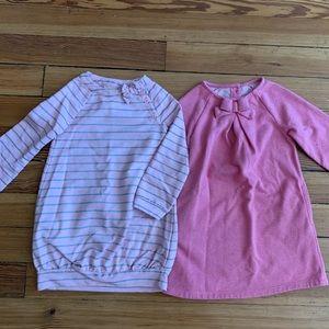 Cute Nordstrom Crazy 8 Pink Dress Set size 4T 💕